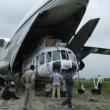 Loading an Mi-8 MTV in Nepal