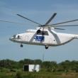Mi-26 picking up a 4-ton generator in Rumbek, South Sudan