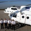 Mi-8T and crew at homebase, Simferopol, Ukraine